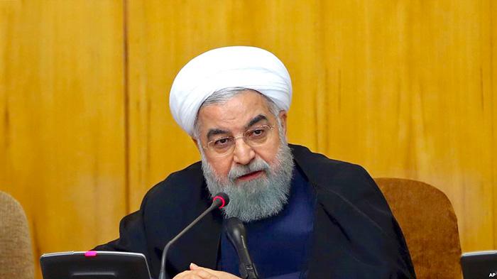Presidente de Irán, Hasán Rouhaní.