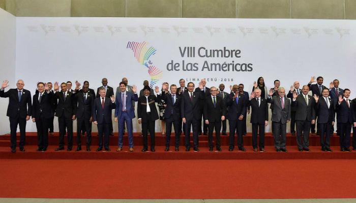 Presidentes en Cumbre de las Américas ¿Latinoamérica a la derecha?