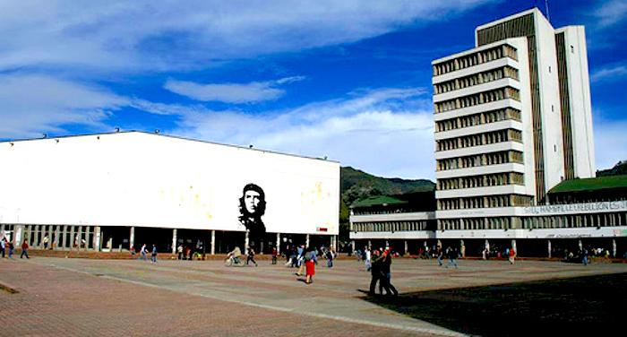 Una de las universidades públicas del país, Universidad Nacional de Colombia.