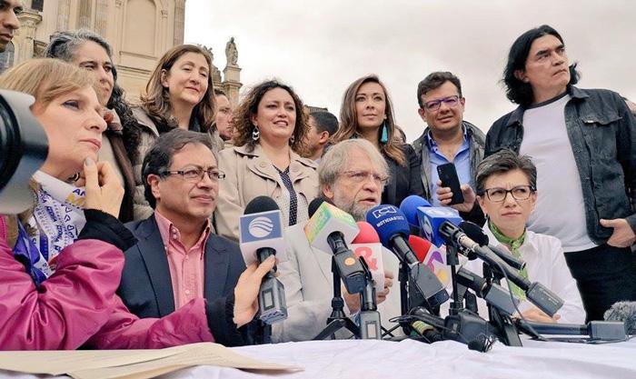 Adhesiones a la campaña de Gustavo Petro en segunda vuelta.