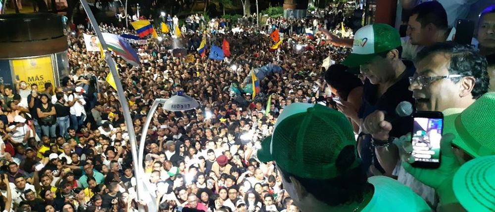 Campaña presidencial de Gustavo Petro.