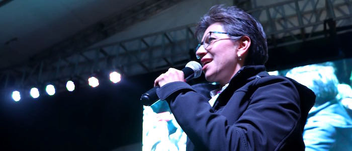 Claudia López, promotora consulta anticorrupción