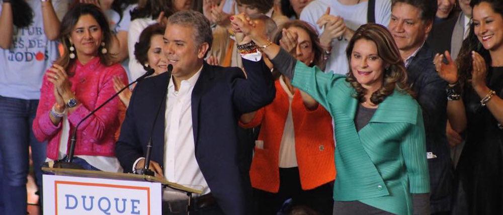 Presidente y Vicepresidenta, Iván Duque y Marta Lucía Ramírez.
