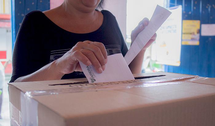 Elecciones segunda vuelta.