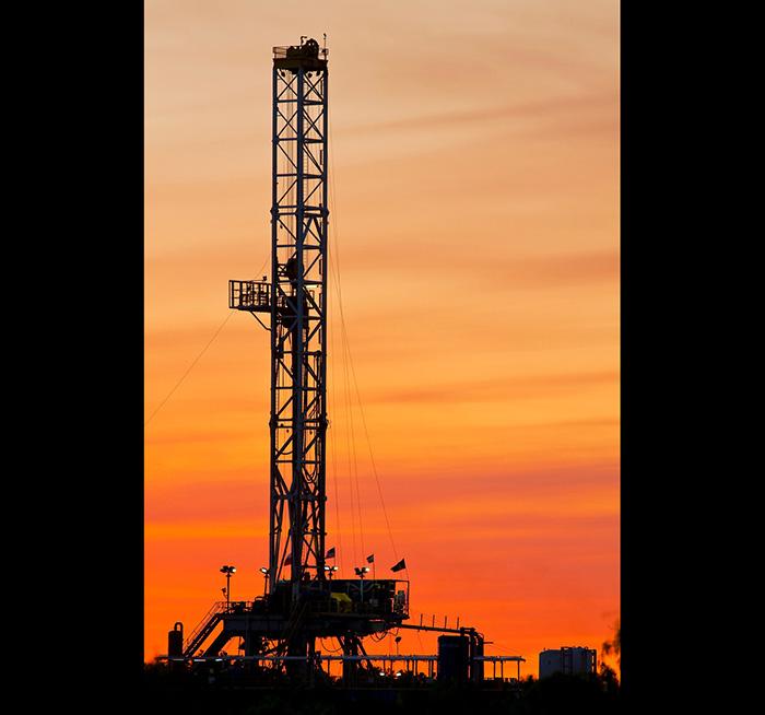 Extracción petrolera.