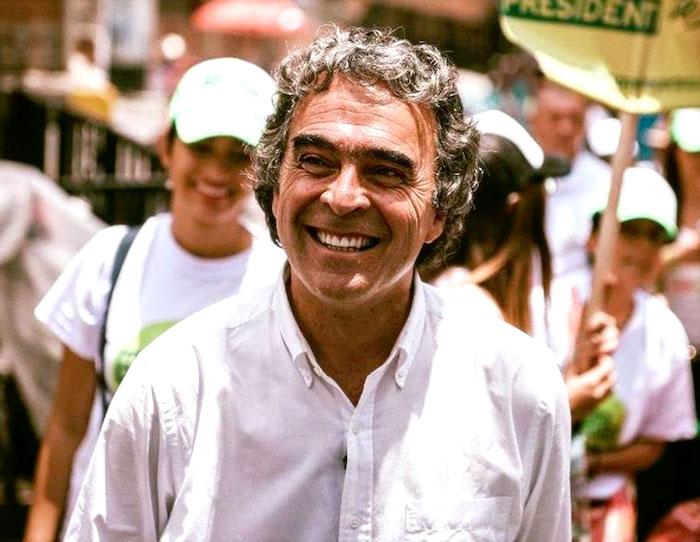 Excandidato a la Presidencia, Sergio Fajardo.