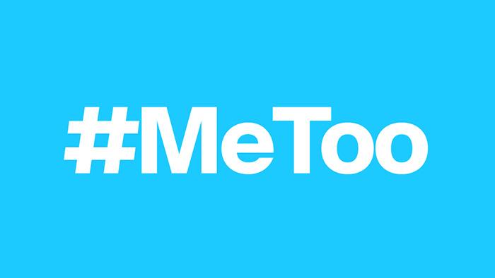 Ícono de la campaña #Metoo.