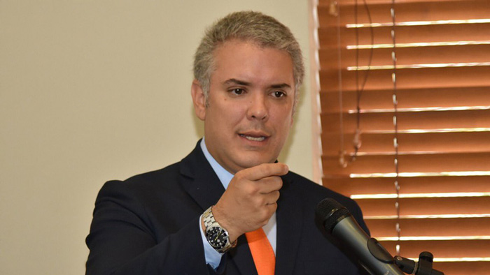 Presidente electo Iván Duque.