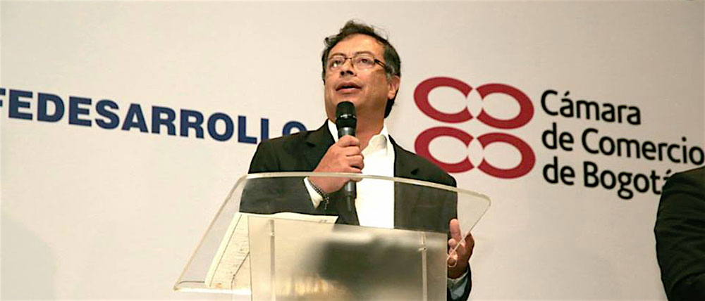 Candidato Presidencial, Gustavo Petro
