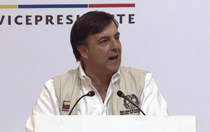 Registrador Juan Carlos Galindo.