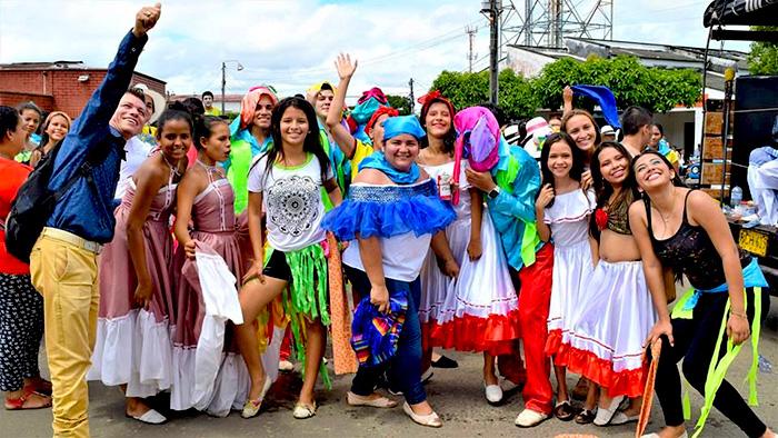 Habitantes del Caquetá en el festival El Doncello.