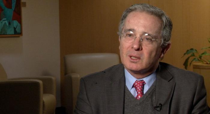 Ex presidente de la República Álvaro Uribe Vélez.