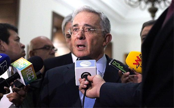 Congresista del Centro Democrático, Álvaro Uribe Vélez.