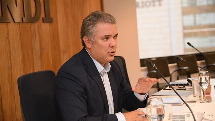 Iván Duque, presidente electo en Colombia