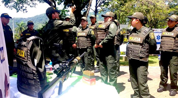 Policías antidrogas.