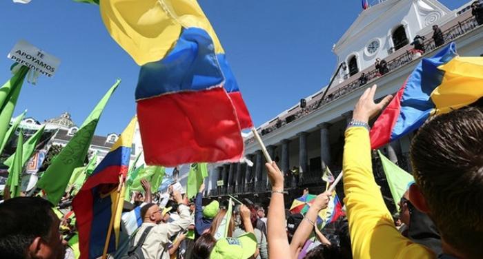 """Apoyo a la """"Revolución Ciudadana"""" del Expresidente Rafael Correa."""