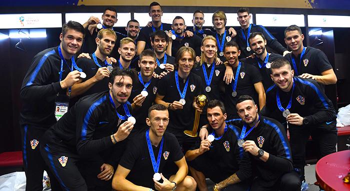 Selección croata.