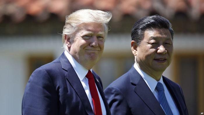 Reunión Trump y Jinping