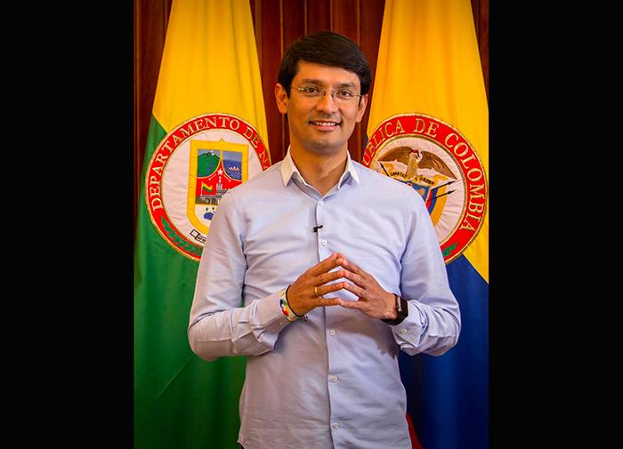 Camilo Romero, Gobernador de Nariño.