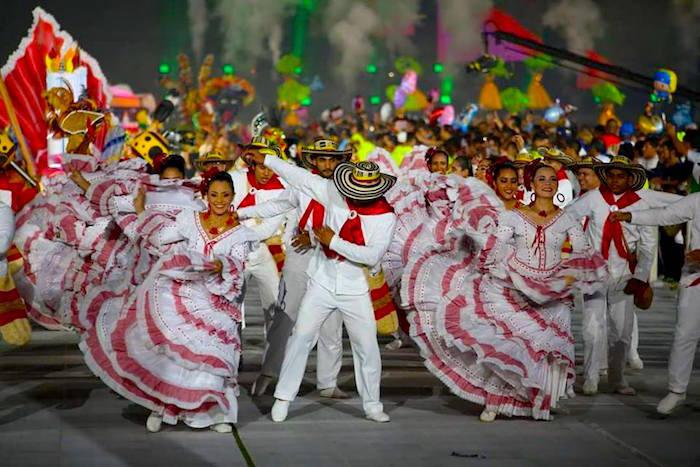 Clausura Juegos Centroamericanos y del Caribe, Barranquilla 2018.