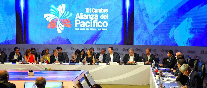 Cumbre de la Alianza del Pacífico, en Cali.