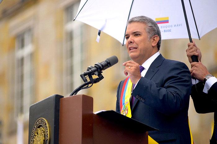 Presidente electo, Iván Duque.