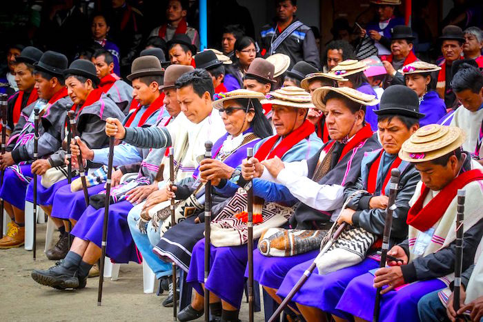 Indígenas de Silvia, Cauca.