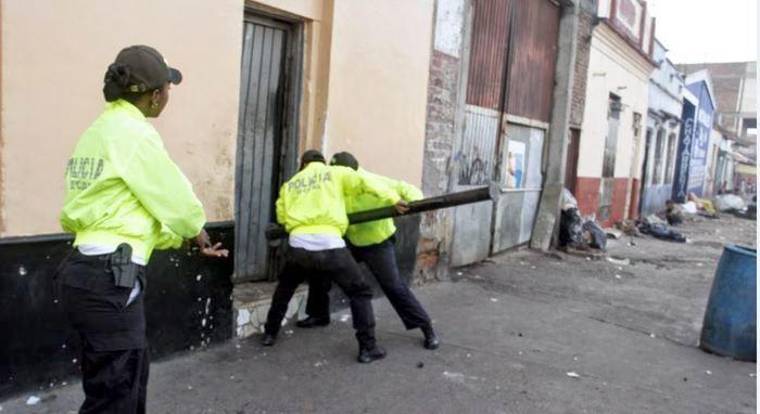 Captura de banda criminal.