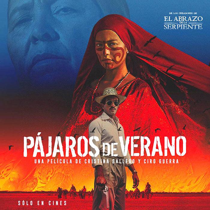 """Película colombiana, """"Pájaros de Verano""""."""