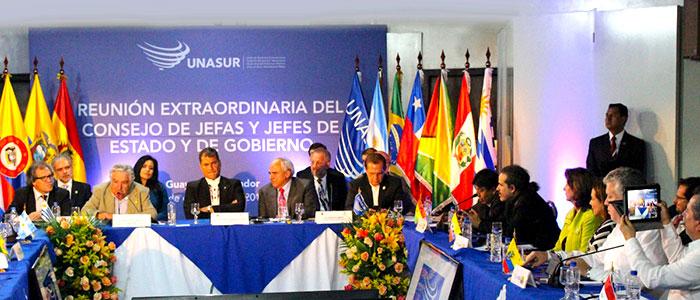 Congreso de UNASUR.