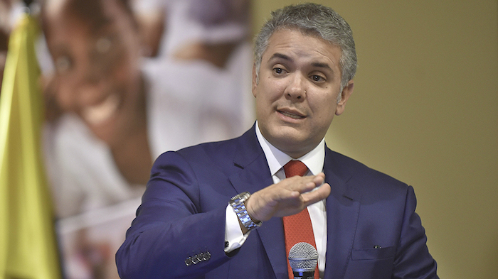 Presidente de la República, Iván Duque.