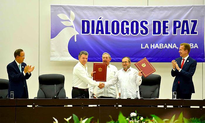 Acuerdos de Paz con las FARC.