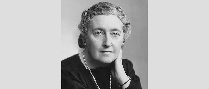 Escritora británica, Agatha Christie.
