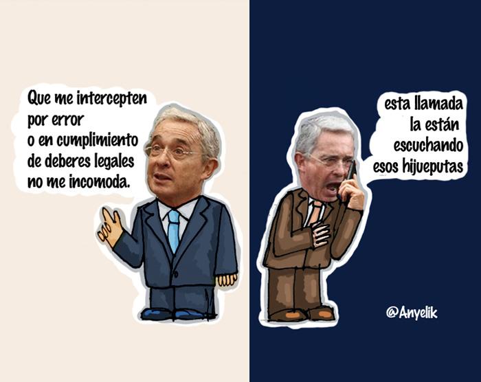 Chuzadas a Uribe