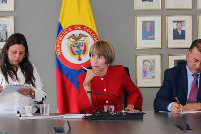 Ministra Alicia Arango.