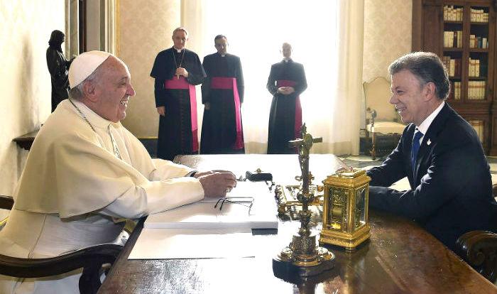 Visita papa Francisco 2017