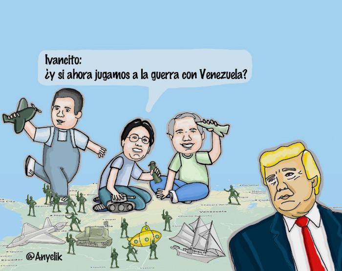 Ivancito_ ¿y si ahora jugamos a la guerra con Venezuela?