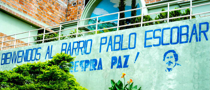 Barrio Pablo Escobar.