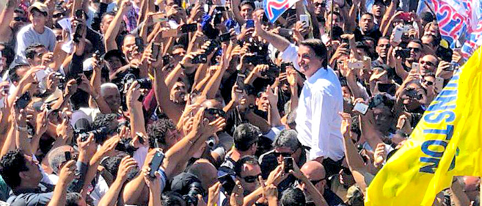 Jaír Bolsonaro representa un espejo de Brasil que pocos querían ver.