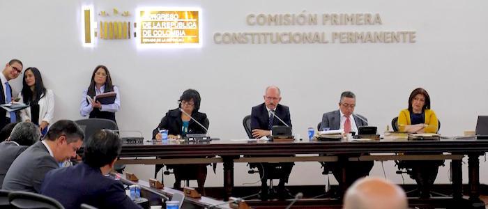 Comisión Primera Constitucional