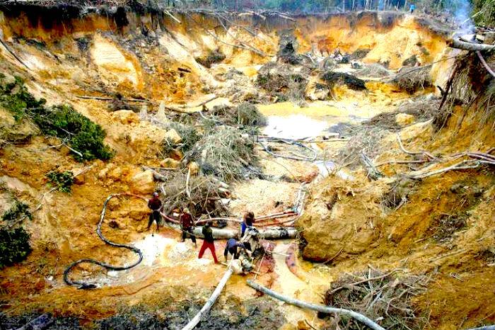 ANLA y la minería ilegal.