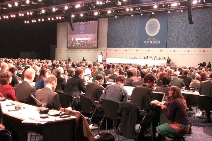 COP 15 opening session