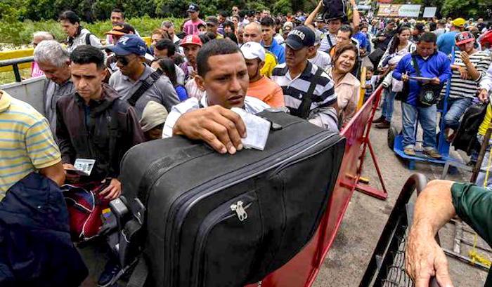 Crisis migratoria de Venezolanos.