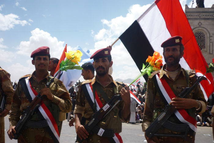 Soldados Yemeníes