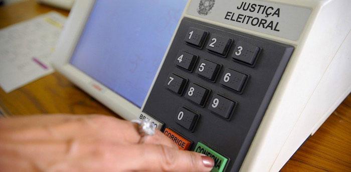 Sistema de votación en Brasil.