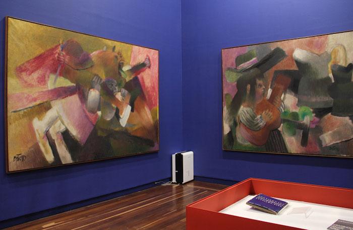 Foto exposición Botero Museo Nacional.