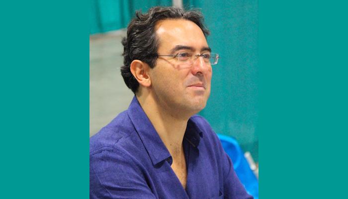 Escritor colombiano, Juan Gabriel Vásquez.
