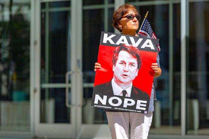 Manifestaciones en contra de la elección de Brett Kavanaugh