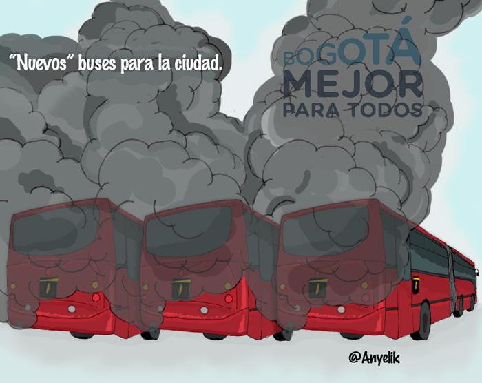 Los nuevos buses para la ciudad