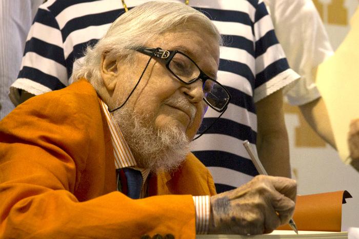 Fernando del Paso en la Feria Internacional de Lectura Yucatán.
